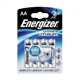 Baterie Energizer Ultimate Lithium 1,5V (AA) - 4 KS
