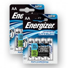 2 x Baterie Energizer Ultimate Lithium 1,5V (AA) - 4 KS
